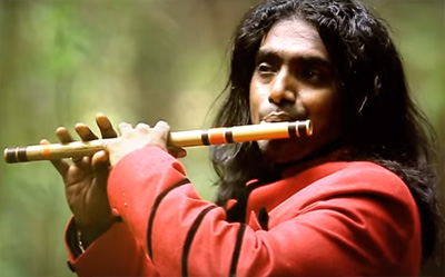 Rajesh Cherthala (Official) Tu Hi Re/ Uyire Uyire (tamil) Flute Cover of Movie Bombay by AR RAHMAN