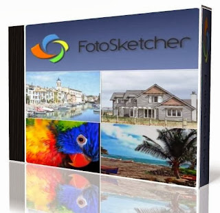 برنامج لجعل الصورة مرسومة بالرصاص مجانى Download FotoSketcher 2019