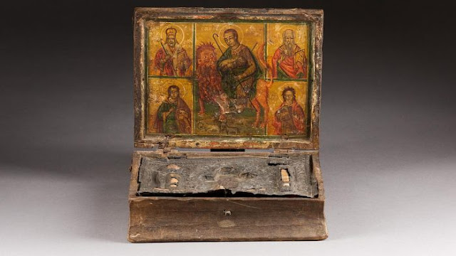 Germans return priceless reliquary case looted from Turkish occupied North Cyprus