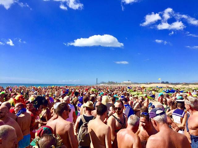 4 maspalomas bude Nude Beach