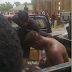 Goat Thief Beaten Mercilessly By Angry Mob After Being Nabbed Today In Kwara