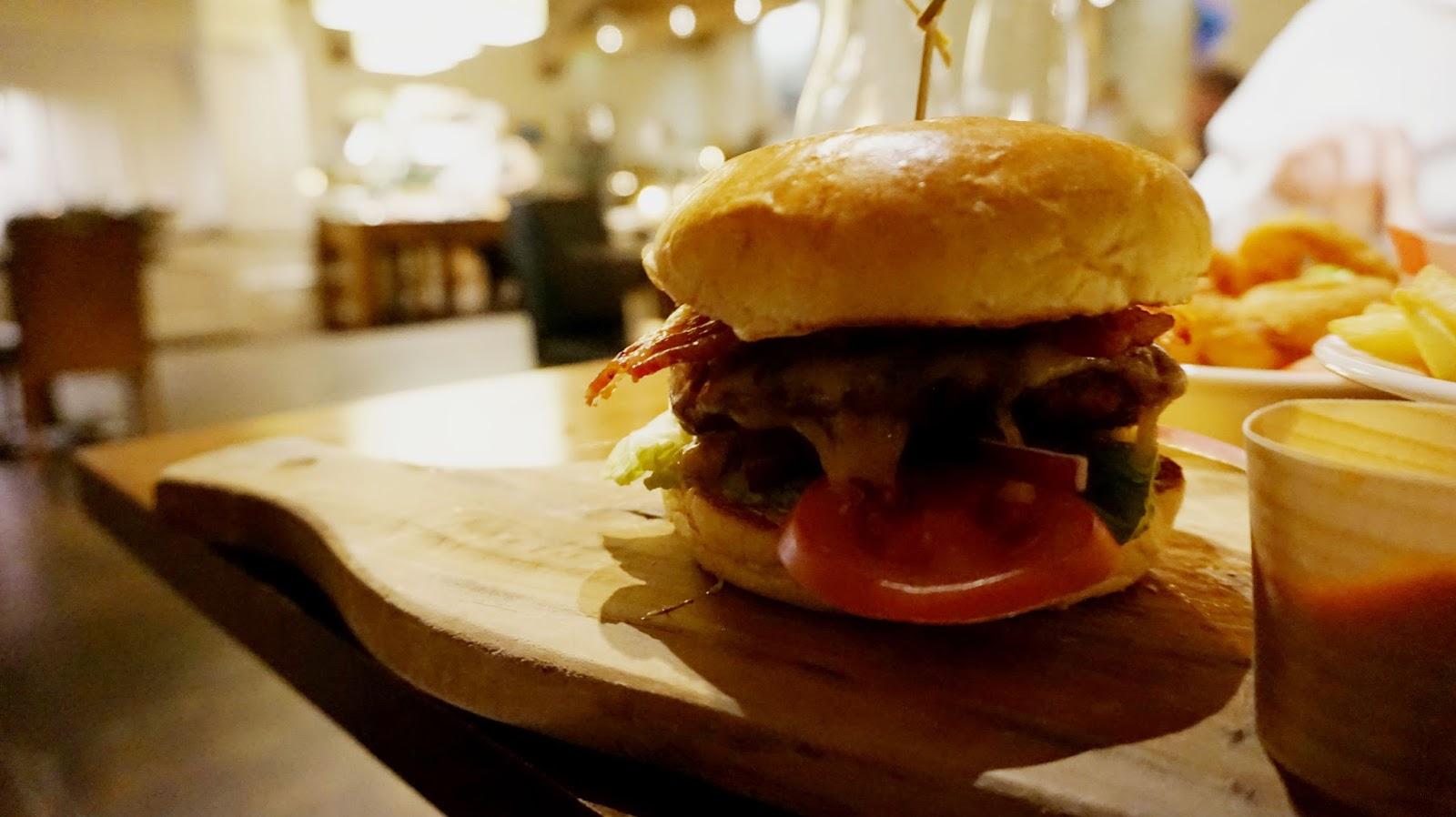 bristol aztec hotel and spa restaurant burger gourmet