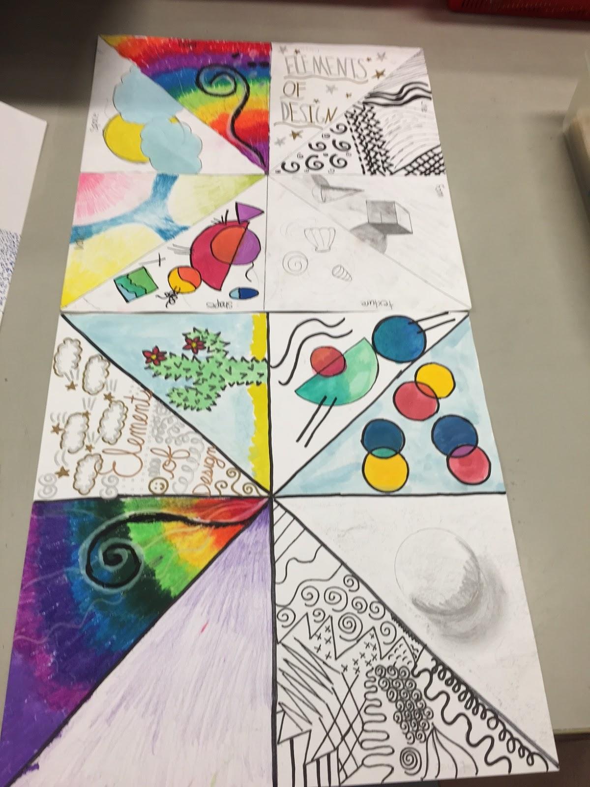 Mrs Adkison S Art Blog Grade 4 Elements Of Design