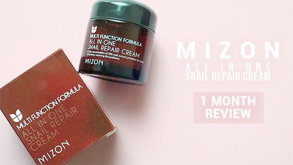 mizon all in one snail repair cream review