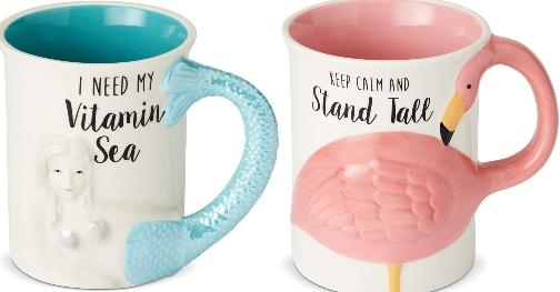 Vitamin Sea Mermaid Blue Mug Quote