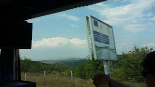 Autopista búlgara financiada por la Unión Europea.