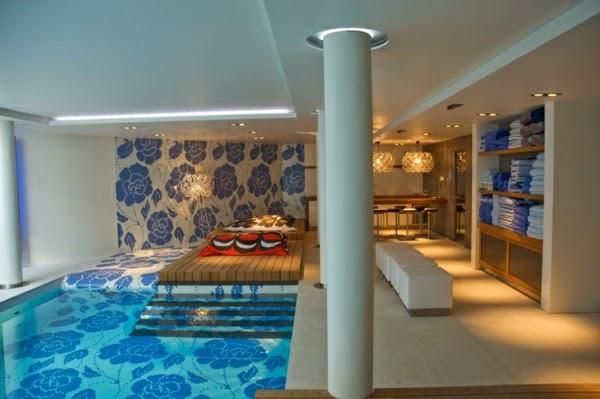 hermoso diseño de piscina