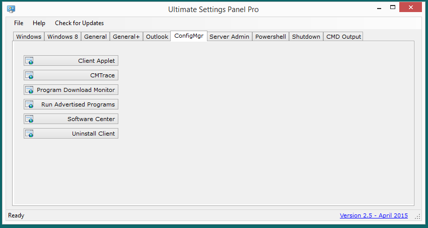 Ultimate Settings Panel Pro version 2.5 Released 8