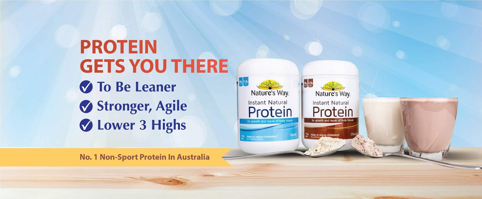 Nature's Way Instant Natural Protein