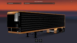 Refrigerated American Trailer