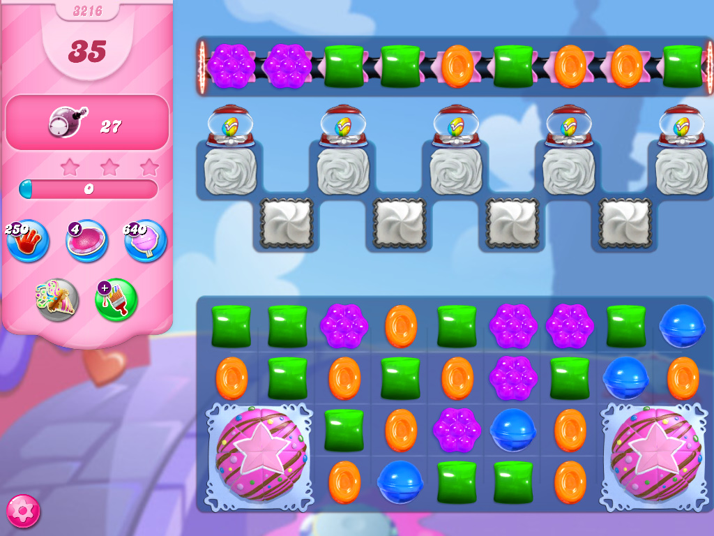 Candy Crush Saga level 3216
