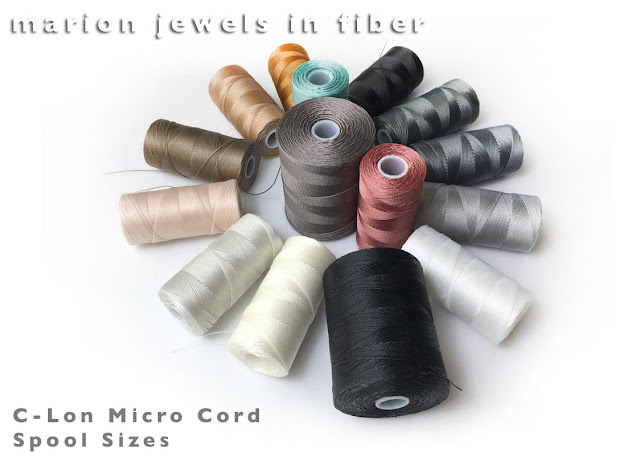 C-Lon Micro Cord - New Colors - New Spools Sizes