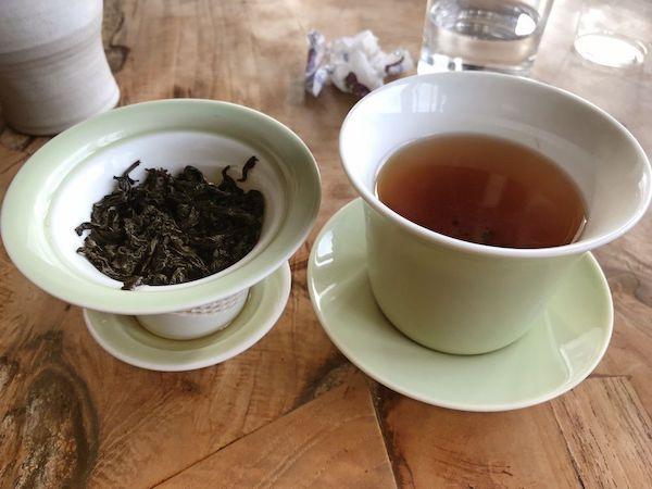 猫空はお茶の産地なのでお茶を注文