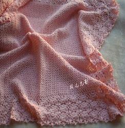 patrones de manta de bebe para tejer al crochet