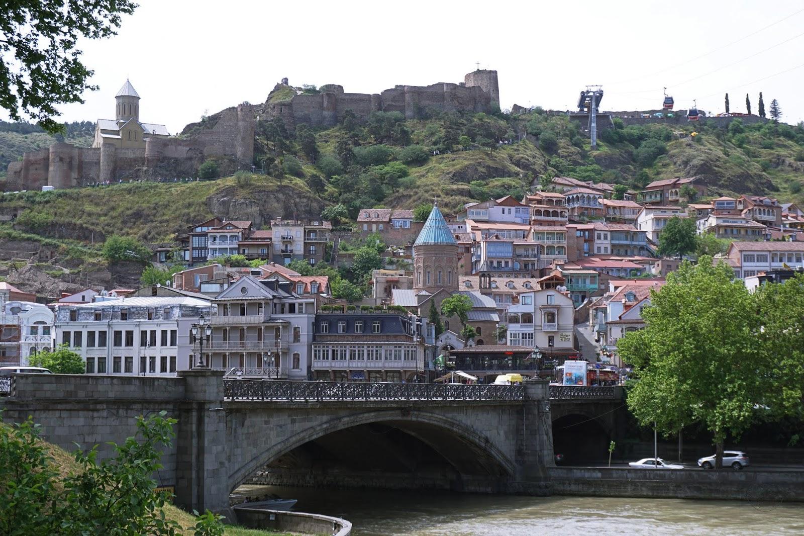 Spacerem po Tbilisi
