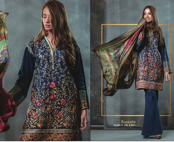 Alkaram Summer Eid Festival Dresses Collection 2017-2018