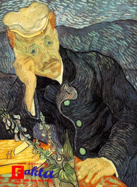 lukisan portrait of dr gachet vincent van gogh lukisan termahal di dunia
