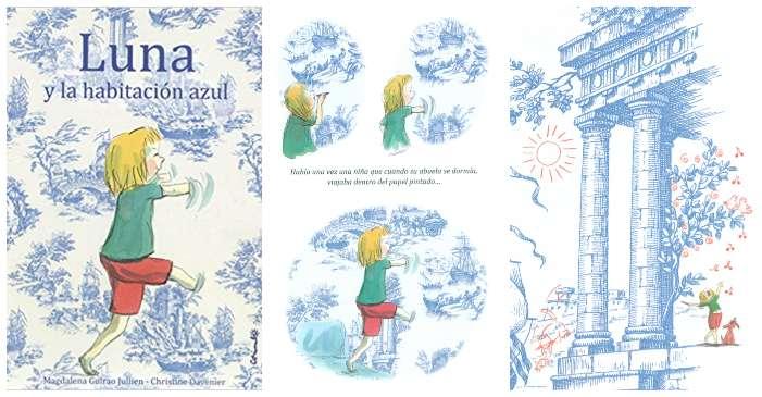 cuentos libros infantiles superar vencer timidez luna y la habitación azul