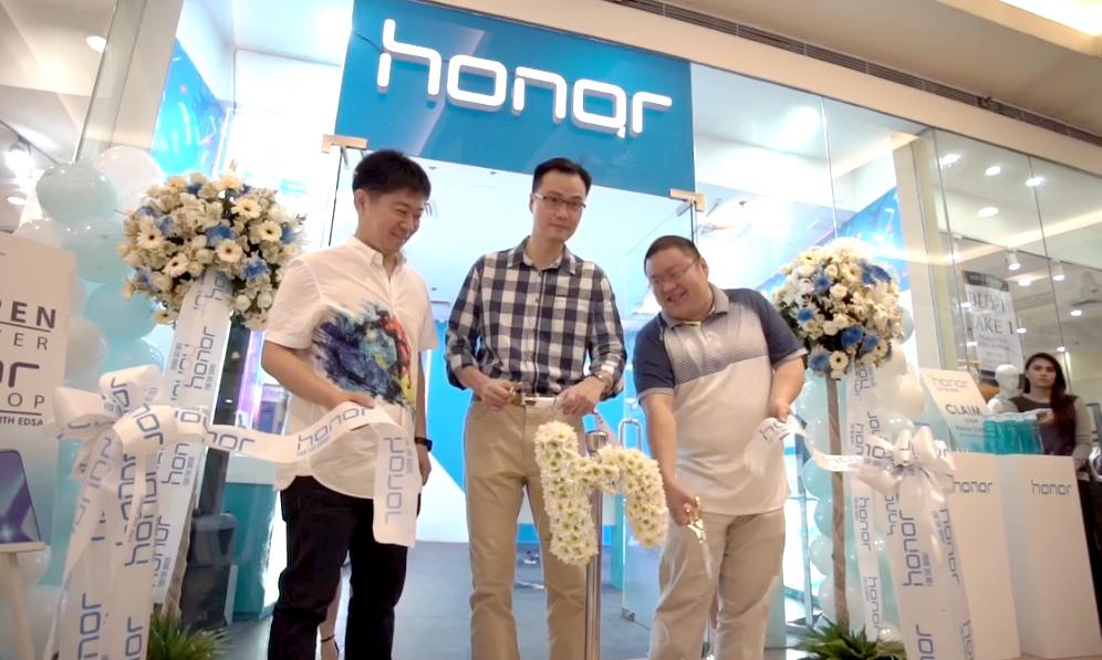 Honor Smartphone Store, Honor Concept Store SM North EDSA