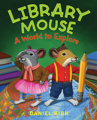 Library Mouse: World To Explore, part of children's book review list about mice