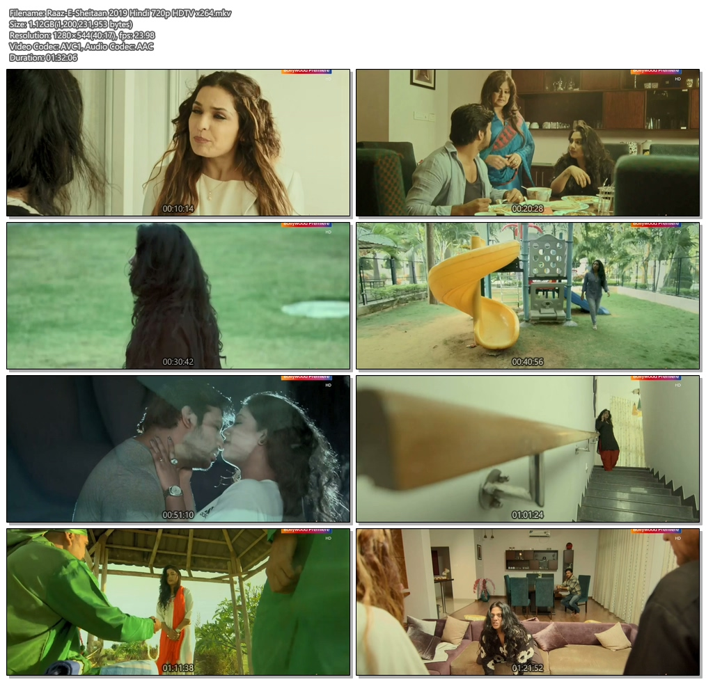 Raaz-E-Sheitaan 2019 Hindi 720p HDTV x264 | 480p 300MB | 100MB HEVC Screenshot