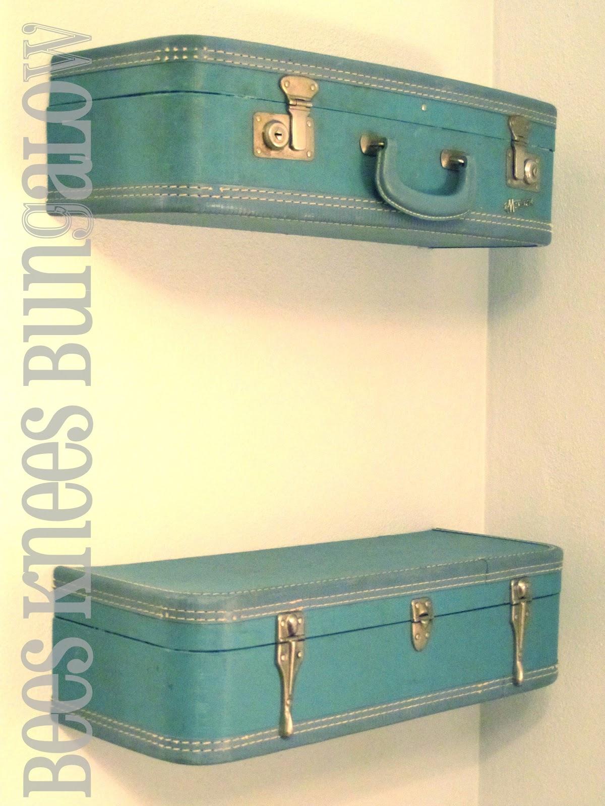 20 Diy Vintage Suitcase Decorating Ideas