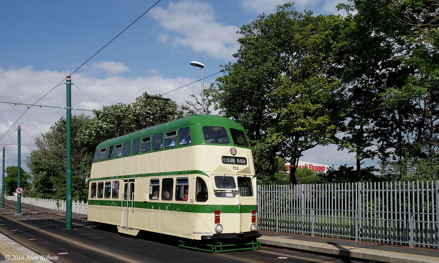 Blackpool Tram Blog Trams And Trees