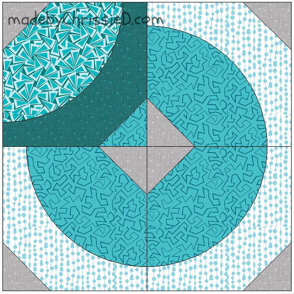 Aquawave Block by www.madebyChrissieD.com