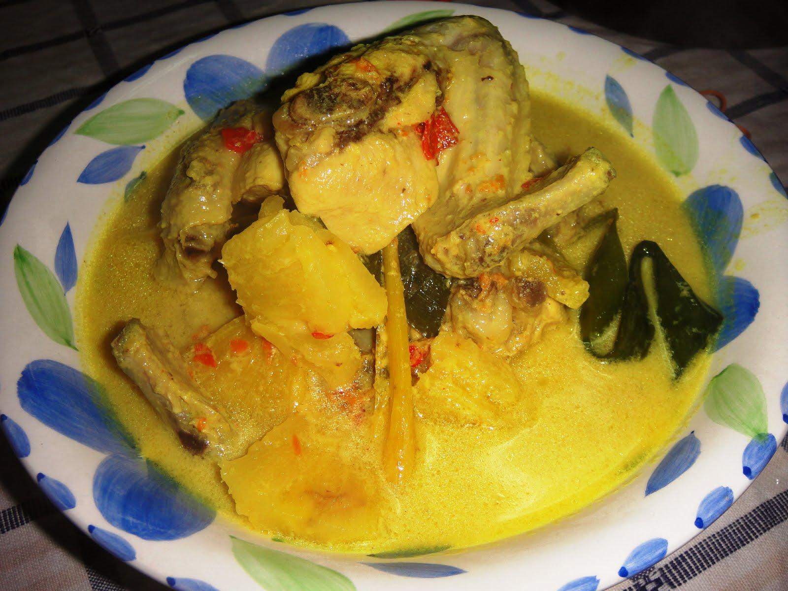 Fazy's Kitchen: Ayam Masak Lemak Cili Api