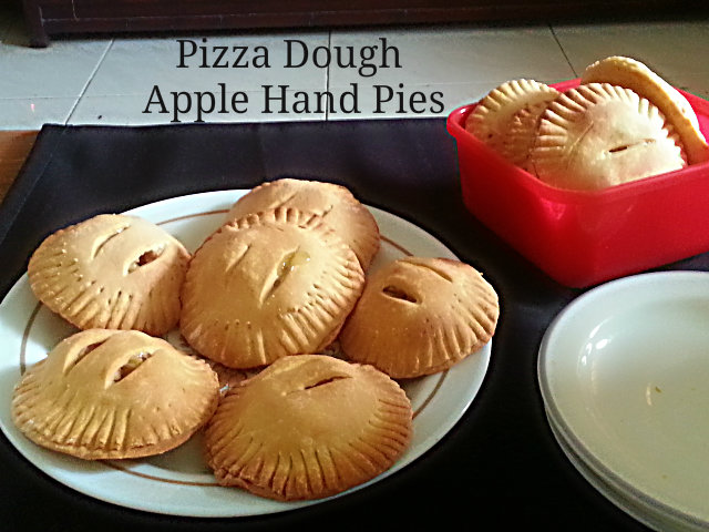 Pizza Dough Apple Hand Pies Recipe @ http://treatntrick.blogspot.com