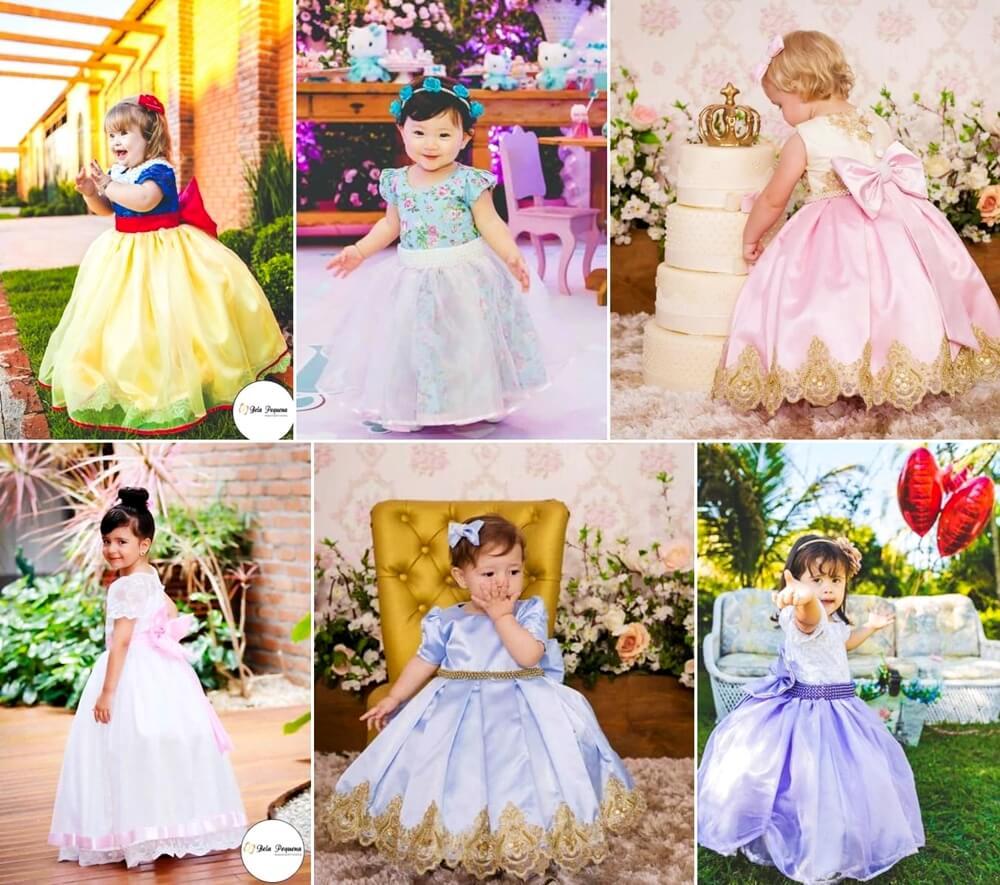 Torne o seu mundo mágico com os vestidos infantis da Bela Pequena