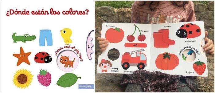 mejores cuentos  infantiles de 0 a 3 años ¿dónde están los colores? timunmas