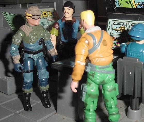 2003 Unproduced Wal Mart Sky Patrol Low Light, Midnight Chinese, Rare G.I. Joe Figures, 1989 Slaughters Marauders Mutt, Brazil, Estrela, 2005 Comic Pack Hawk, Dial Tone