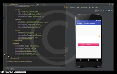 Android Studio - ViewPager Cards inspirado en Duolingo