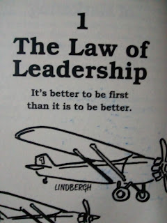 The law of leadership text