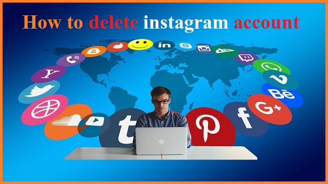 How to paermanently delete instagram account