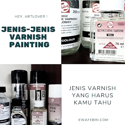 jenis varnish lukisan