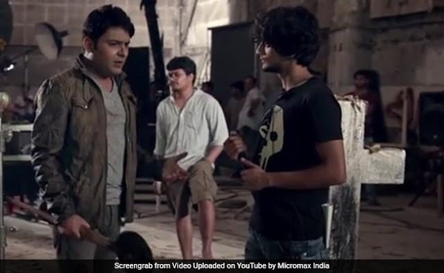 कॉमेडियन कपिल शर्मा का एक वीडियो इंटरनेट पर वायरल
