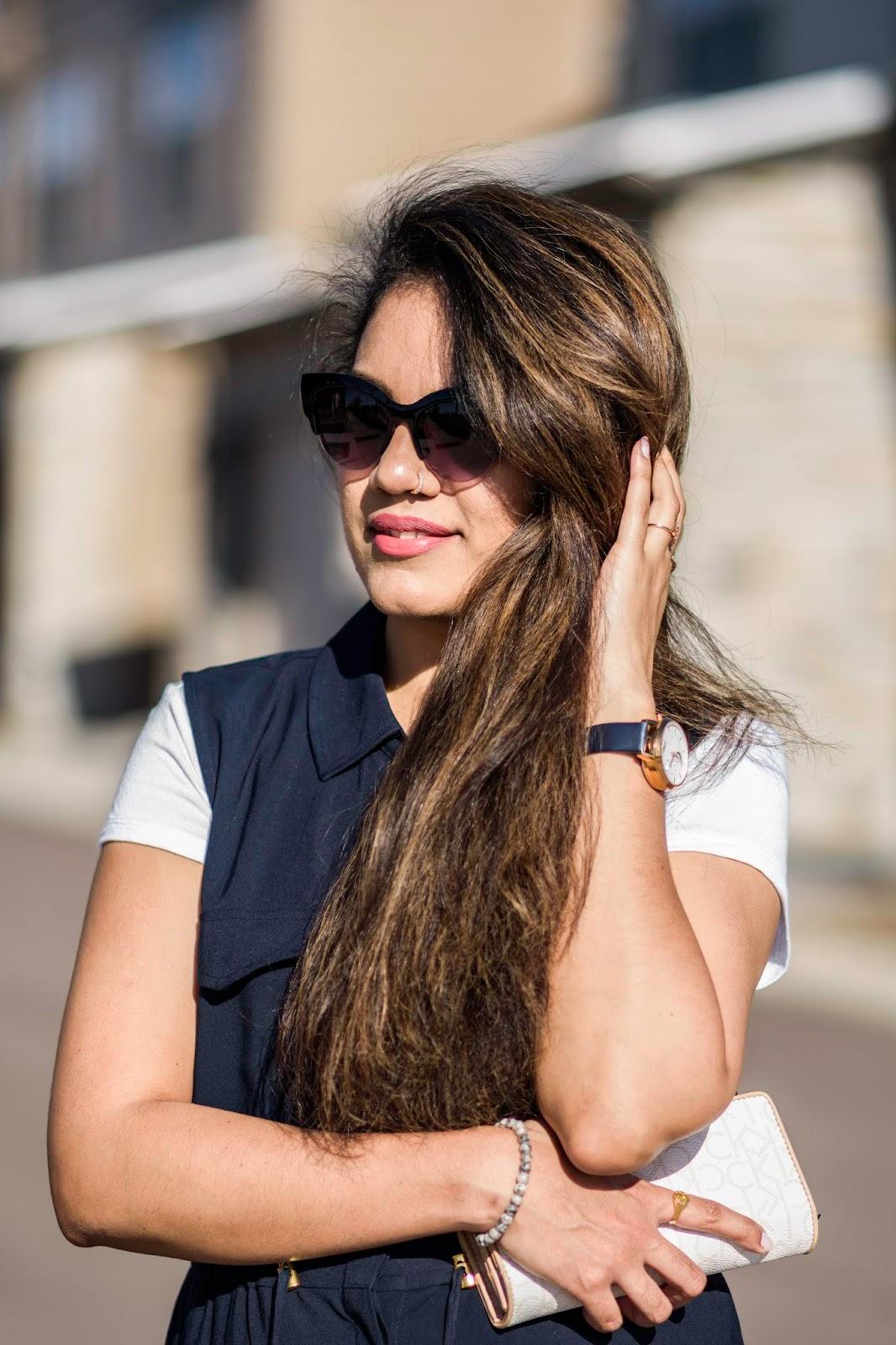 Styling A Shirt Dress; Aim for Glam; Prasanthi Kadiyala; H&M; High Street Lookbook; Vogue; Charles and Keith; Calvin Klein