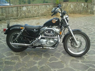 xl sportster 883 m y 1992 black