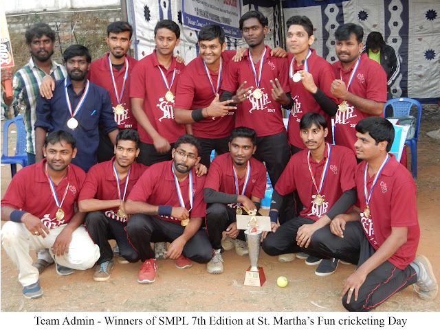 SMPL 7th Edition​ ​Fun cricketing day for St. Martha's doctors, staff