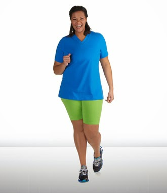 Plus Size womens Walking clothing
