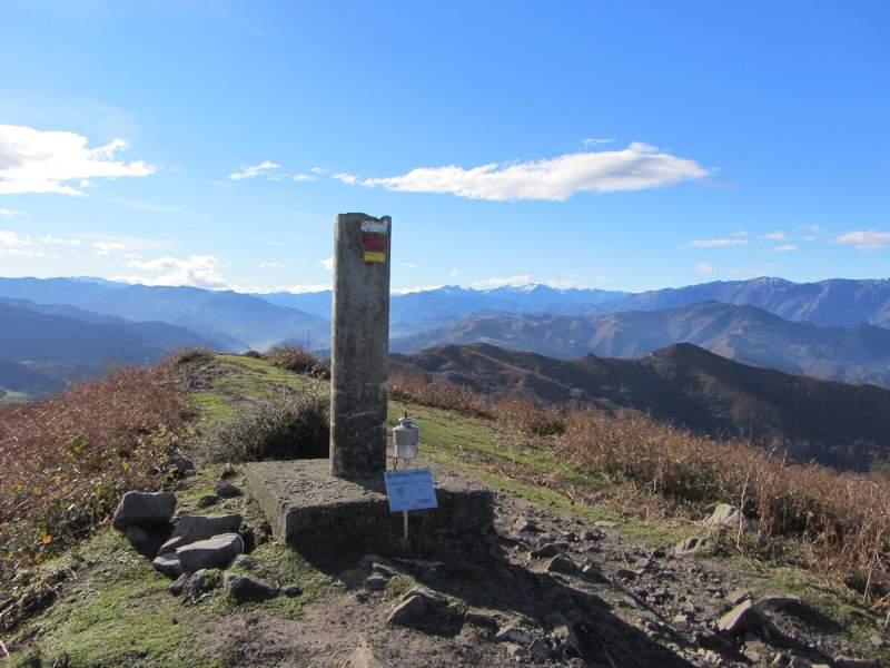 Cima del Escobin, en Oviedo