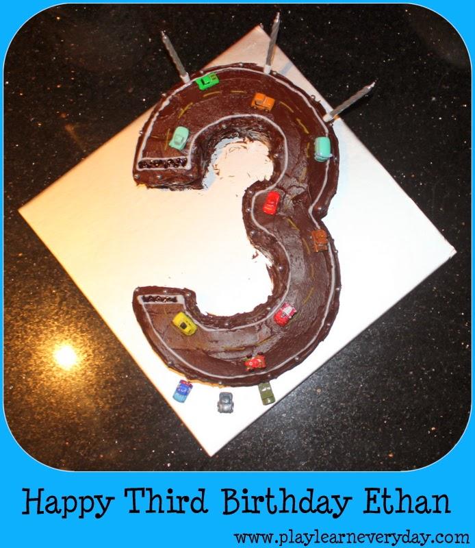 Happy Third Birthday Ethan