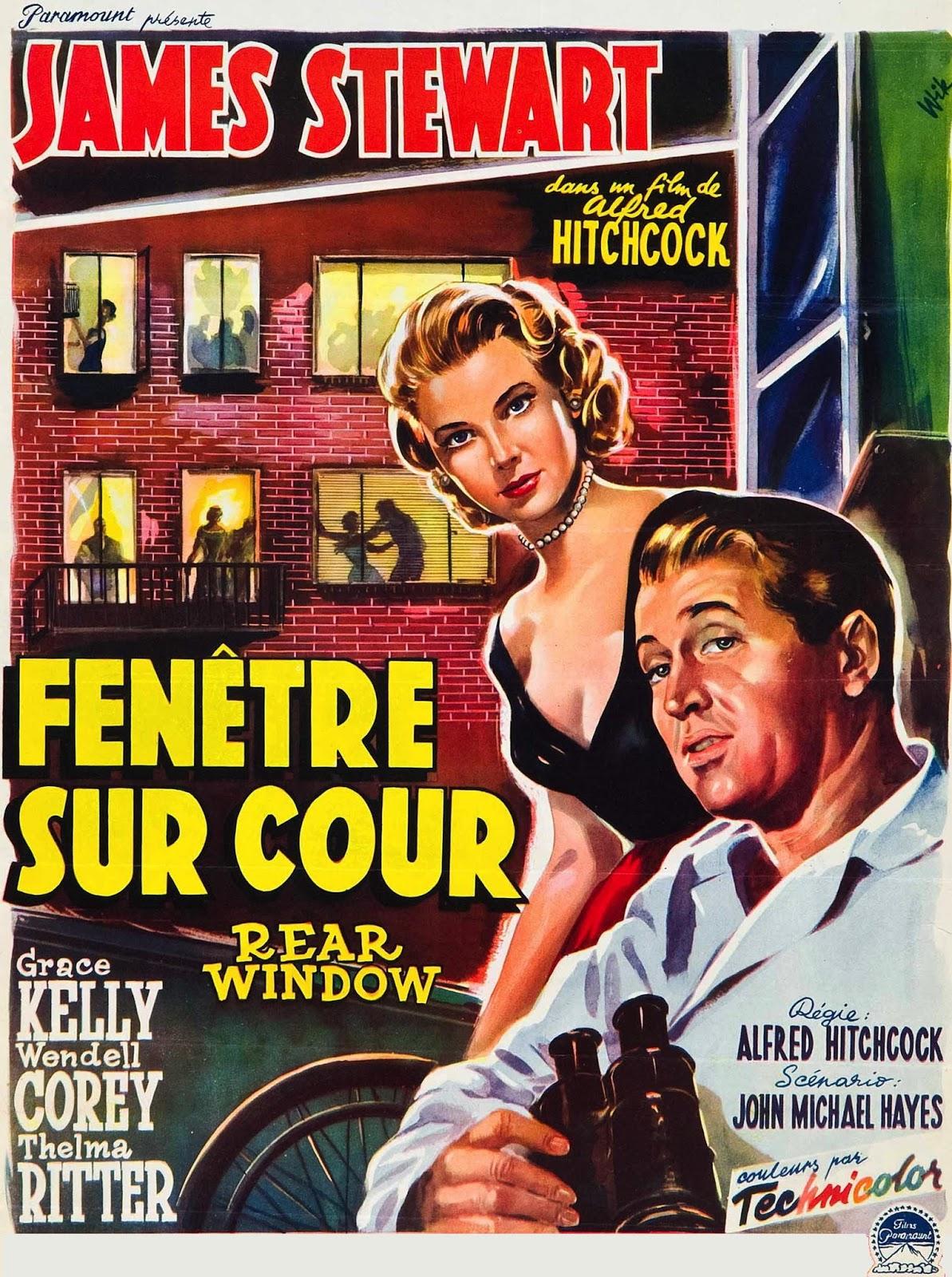 Francomac™: Hitchcock-1954-Fenêtre sur cour