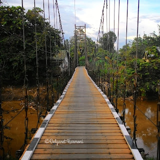 Jembatan Gantung Sungai Sibau