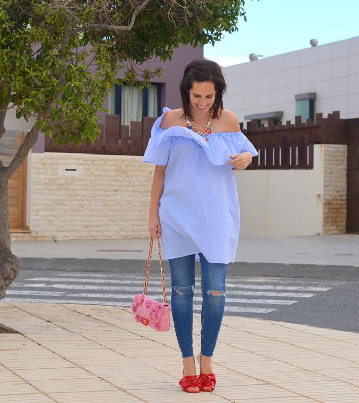 vestido-sin-hombros-zara-outfit