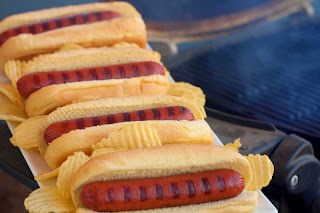 Gourmet Bison Hot Dogs