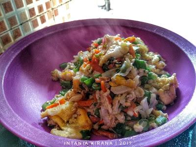 Resep Orang Arik Telur + Sayur