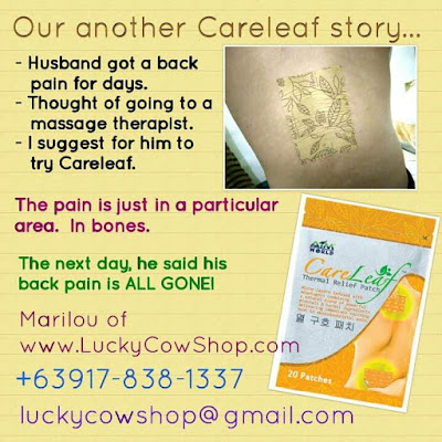 careleaf relief patch review